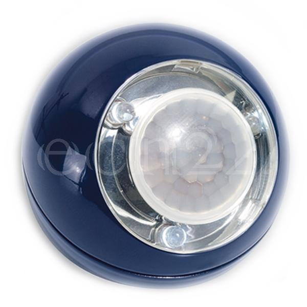 GEV LED Lichtball mit Bewegungsmelder LLL blau