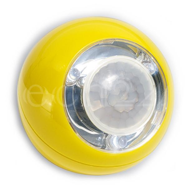 GEV LED Lichtball mit Bewegungsmelder LLL gelb