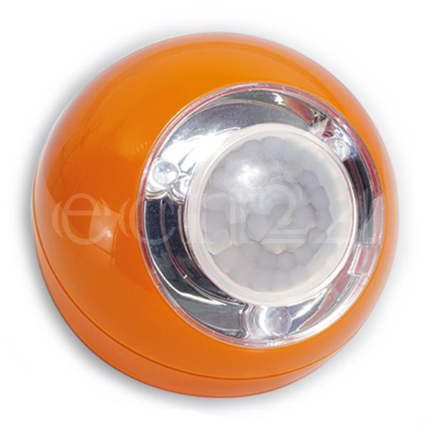GEV LED Lichtball mit Bewegungsmelder LLL orange