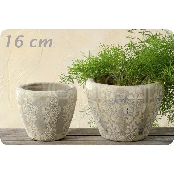 Blumentopf pflanztopf keramik gartendekoration 16cm ebay for Blumentopf keramik