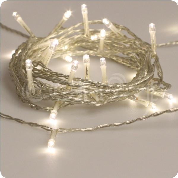 led lichterkette warmwei transparentes kabel deko. Black Bedroom Furniture Sets. Home Design Ideas
