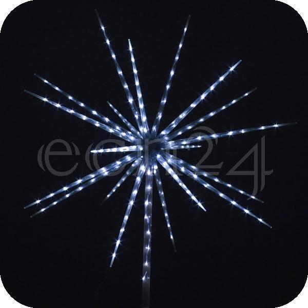 led stern 160 leds 100cm mit feuerwerkeffekt oder fixem licht ebay. Black Bedroom Furniture Sets. Home Design Ideas