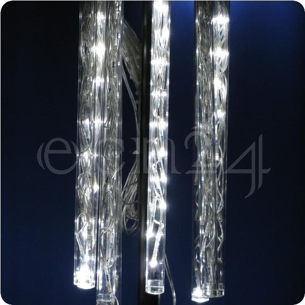 led leuchtstab mit schneefalleffekt lichterkette deko ebay. Black Bedroom Furniture Sets. Home Design Ideas