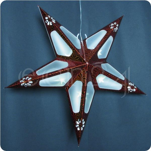 led faltstern fensterdekoration weihnachtsstern weihnachten ebay. Black Bedroom Furniture Sets. Home Design Ideas