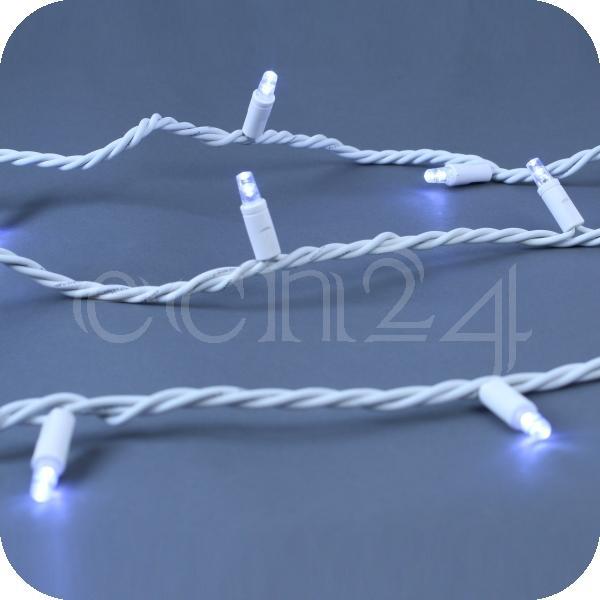 Xp system lichterkette 7 5m mit 50 led blinkend weisses kabel - Lichterkette ohne kabel ...