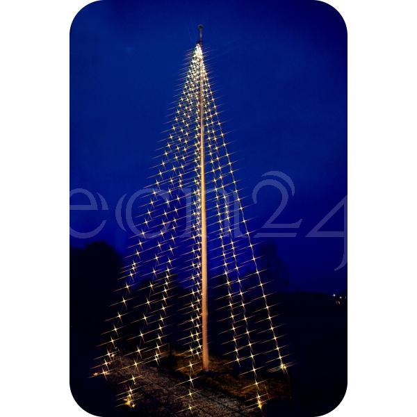 Led lichterkette 8x10m weihnachten weihnachtsbaum ebay for Fahnenmast lichterkette