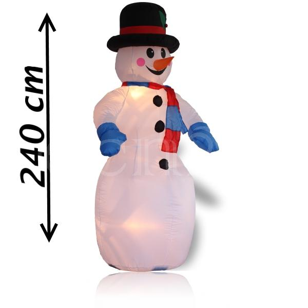 Schneemann-aufblasbar-inklusive-Luefter-und-Beleuchtung-Weihnachtsdeko-XXL