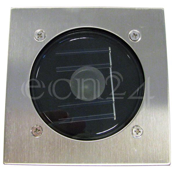 led solar pflasterstein bodenstrahler solarleuchte ebay. Black Bedroom Furniture Sets. Home Design Ideas
