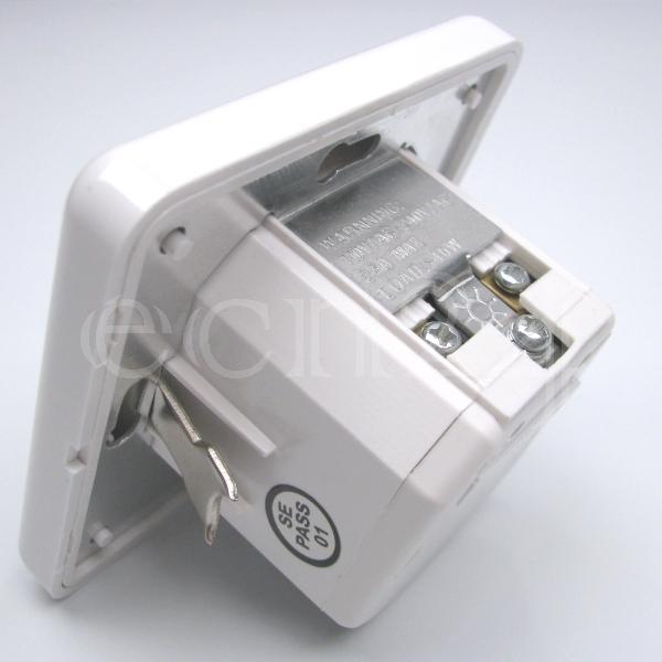 unterputz bewegungsmelder als lichtschalter mit 140 und 2 drahttechnik ebay. Black Bedroom Furniture Sets. Home Design Ideas