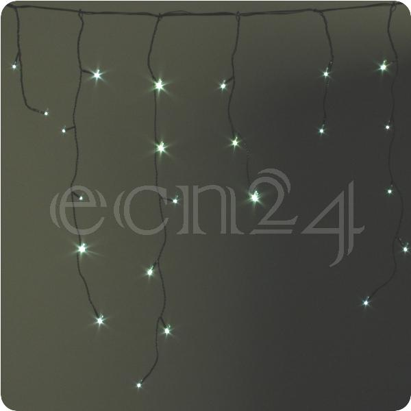 battery operated led fairy lights icicle warm white ebay. Black Bedroom Furniture Sets. Home Design Ideas