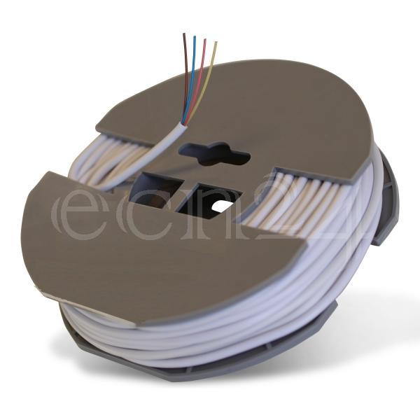 kabel 20m 4x0 2mm telefonkabel installationskabel. Black Bedroom Furniture Sets. Home Design Ideas