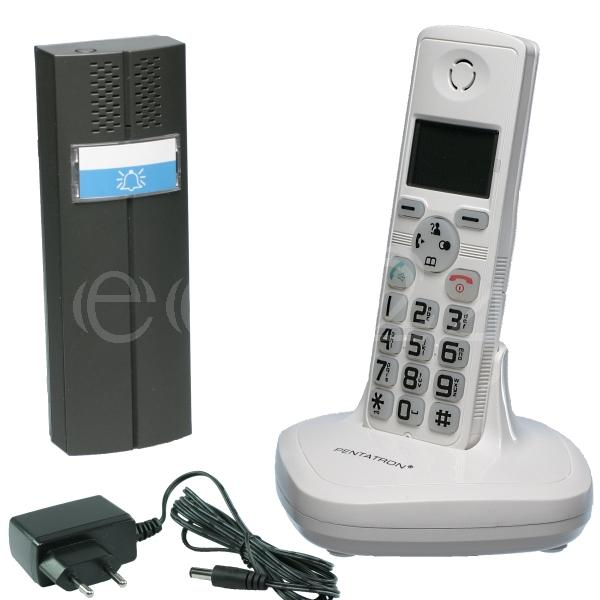 interphone portier sans fil avec t l phone dect ebay