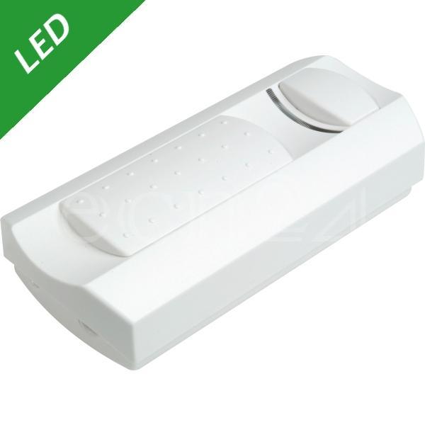 led dimmer 3 35 watt als schnurdimmer mit schieberegler und schalter ebay. Black Bedroom Furniture Sets. Home Design Ideas