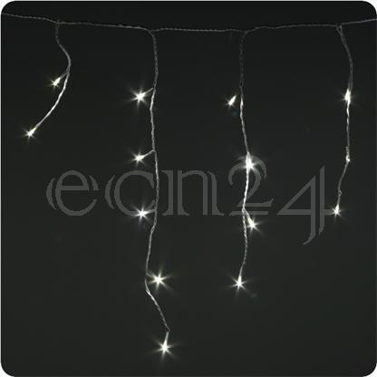guirlande lumineuse led stalactite blanc chaud ebay. Black Bedroom Furniture Sets. Home Design Ideas