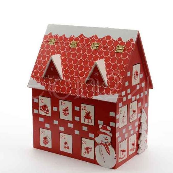 Calendrier de l 39 avent maison en bois remplir ebay - Maison calendrier de l avent ...