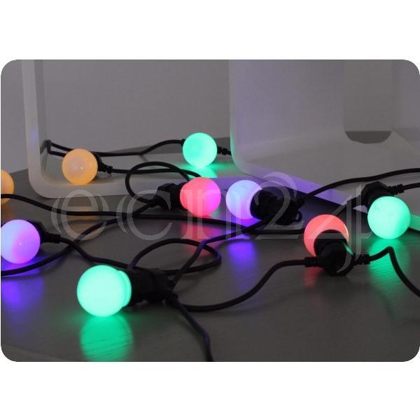 Partylichterkette Weihnachtslichterkette 20 LED LED LED 9,5 m  verlängerbar  | Ausgezeichnet  634b7a