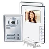 Door video intercom system 2-apartment set CVB
