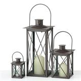 Lantern -Farol- 3-part set