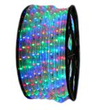 LED rope light by the length (1m) multicoloured
