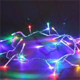 LED light string small couloured LED transparent