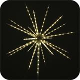 LED star with 80 LEDs 60cm with firework effect