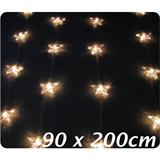 Light string curtain with 50 stars