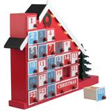 Illuminated advent calender framehouse 24+1