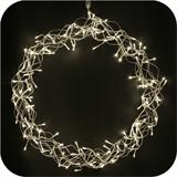 Curly LED door wreath