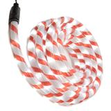 LED rope light 5m candy cane red/white