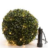 LED light string net box tree sphere by battery