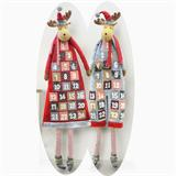 Advent calendar in form of a 175cm reindeer