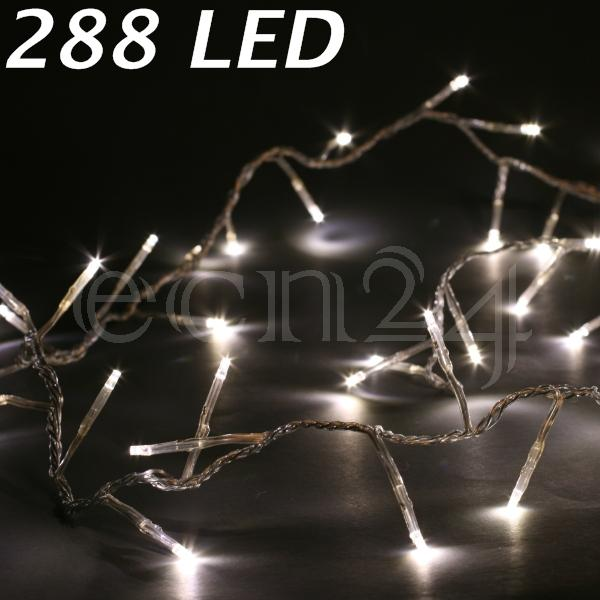 led lichterkette leuchtkette girlande weihnachten warmweiss deko ebay. Black Bedroom Furniture Sets. Home Design Ideas