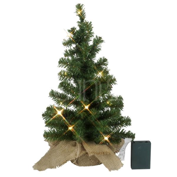 mini weihnachtsbaum mit weissen led lampen. Black Bedroom Furniture Sets. Home Design Ideas